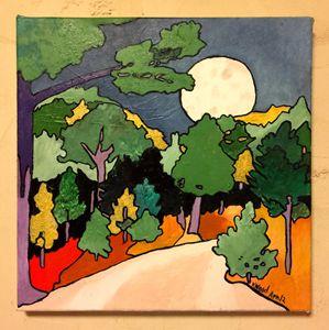Austin Moon Landscape, Original