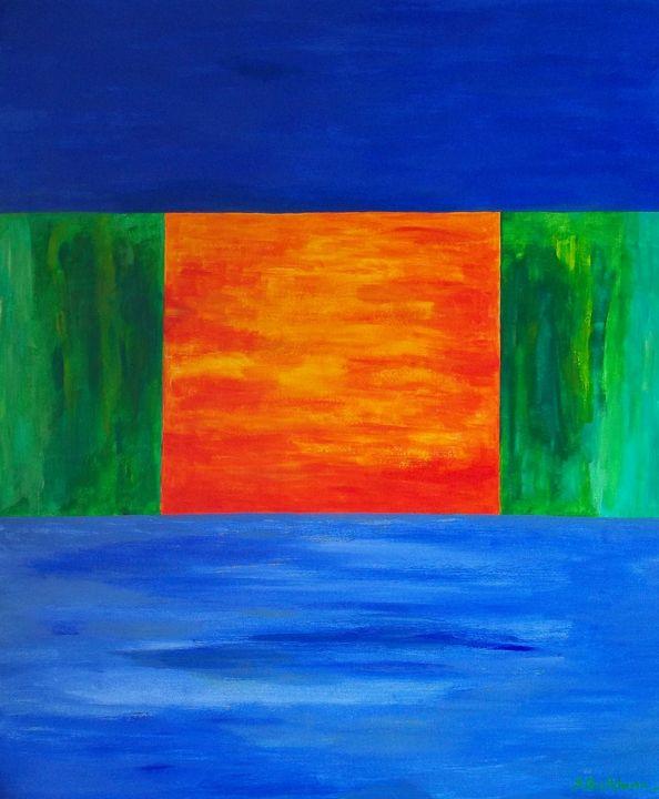 Blueprint of a Sunset - Sonia Ben Achoura