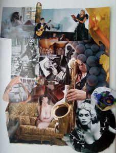 Latvian Collage