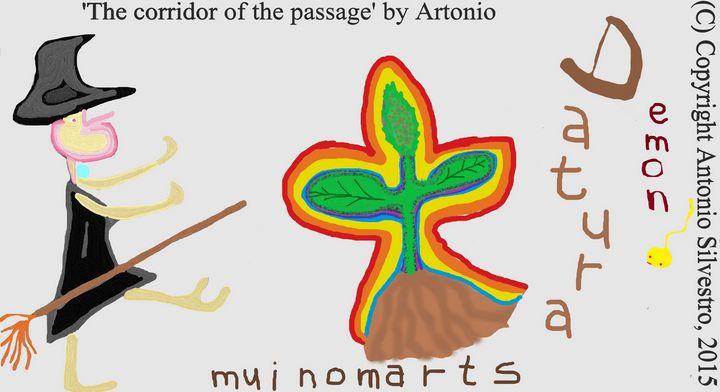 The corridor of the passage - Artonio