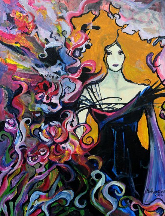 Lady in Black - Olga Belyaeva