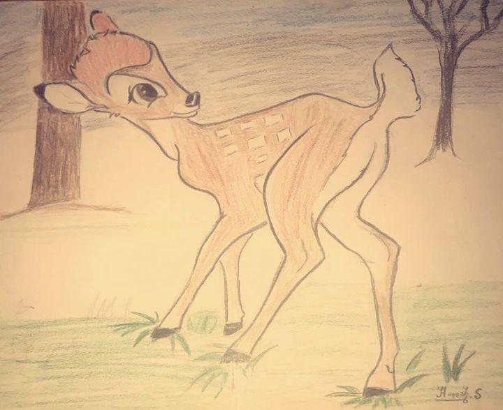 Bambi - Hannah's artwork