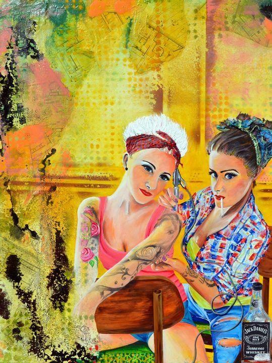 Tattooed Pin-Up Girls - Joe LaMattina
