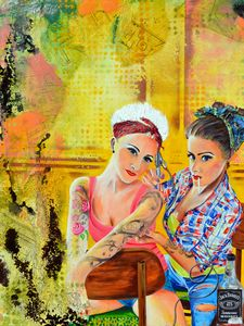 Tattooed Pin-Up Girls - Joe LaMattina