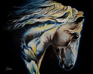 Indigo Horse