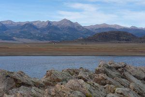 Colorado DeWeese Reservoir - Twisted Perspektive