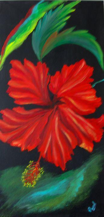 Red Hibiscus - Parul Mehta