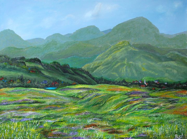 Moutains and Meadows - Parul Mehta