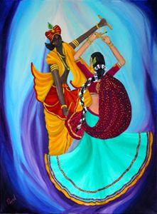 Transcedental Dancing - RadhaKrishna