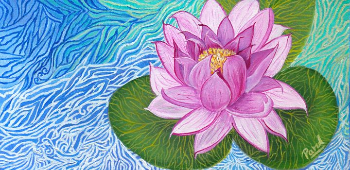 Water Lily - Parul Mehta