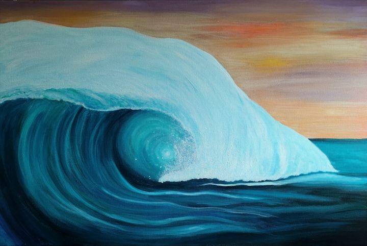 Wave II - Debra March - Artist