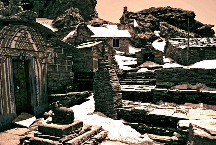 Rocky Temple - Neelima Jaggia