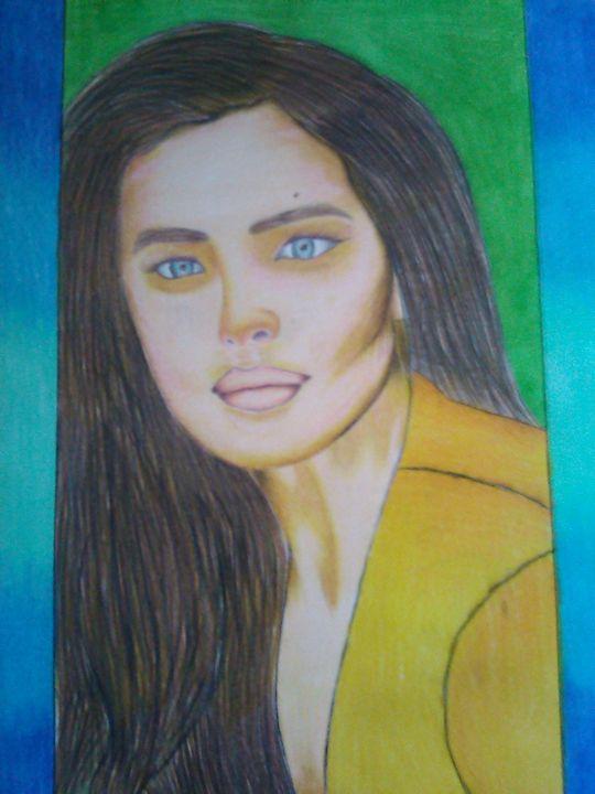Woman in yellow - Dante