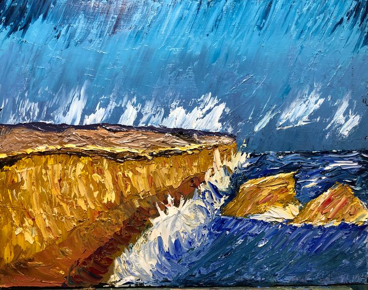Shoreline Cliffs - Jeff Lemma