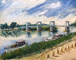 Bridge at Châteauneuf-sur-Loire
