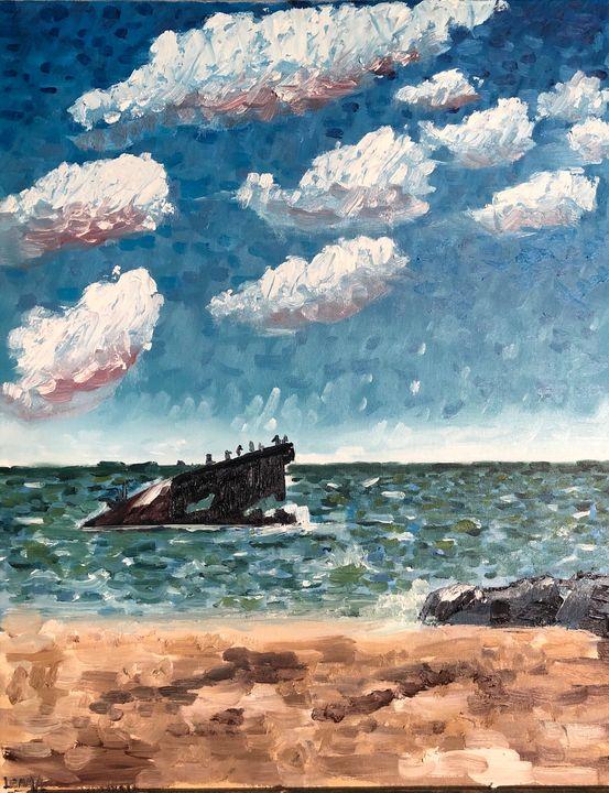 Sunset Beach Shipwreck - Jeff Lemma