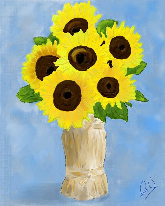 Sunflower Joy - Greg Watkiss