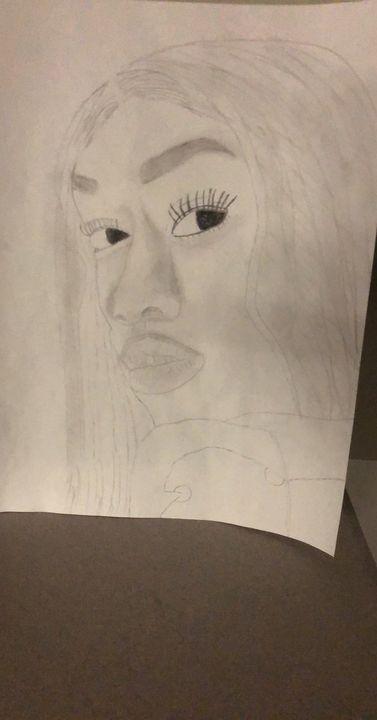 My cousin - Shantel's portraits