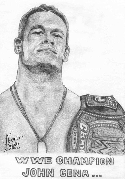 WWE Champion John Cena - Frost's Designs