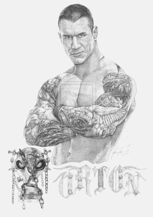 The Viper (Randy Orton) - Frost's Designs