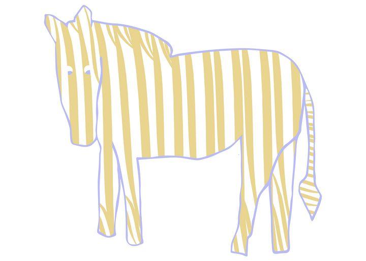 Pastel Zebra - Natalia Stahl