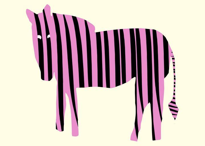 Pink Zebra - Natalia Stahl