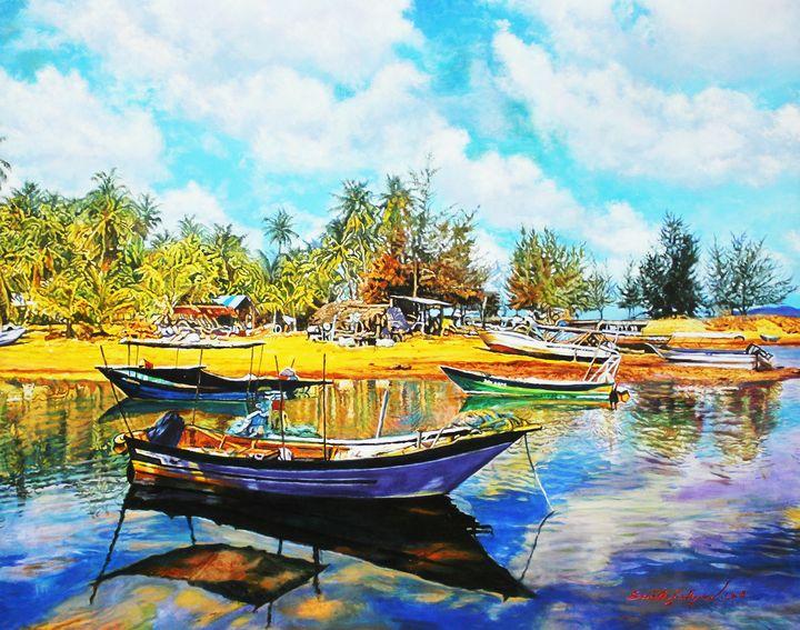 Penarik Fishing Village - Top Art Studio