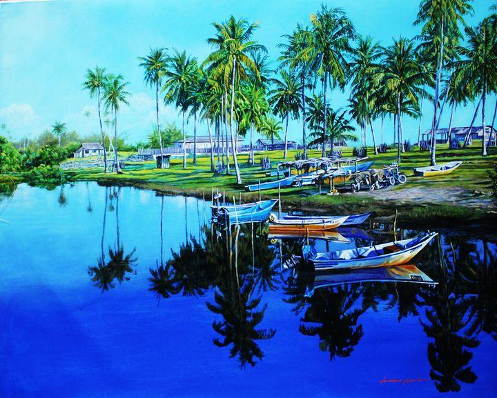 Fishing Village - Top Art Studio