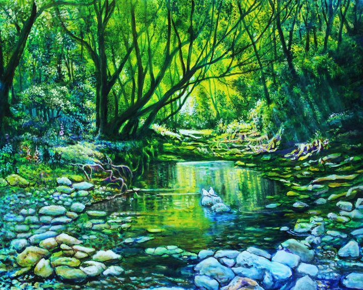 Forest - Top Art Studio