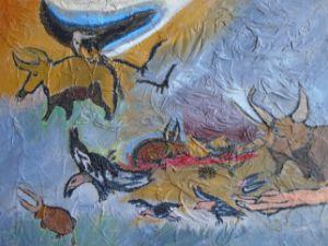 Condor Cave Art - J. Michaels