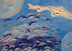 Flying over Adversity - J. Michaels