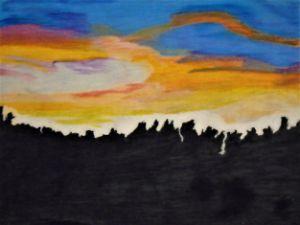 Dusk Beyond the Trees - J. Michaels