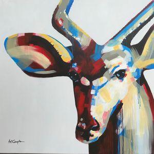 Young Male Kudu