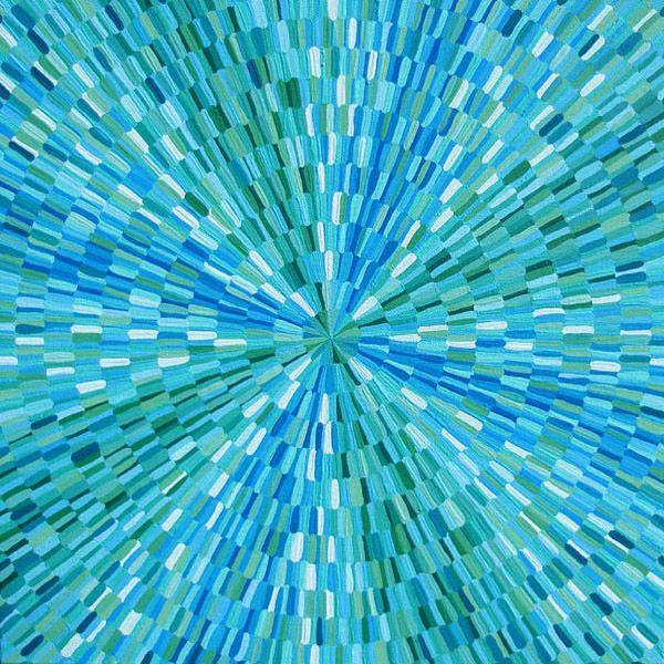 Blue-Green Burst - shauno