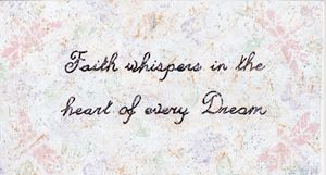 Faith Whispers Quote