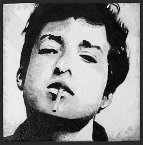 Bob Dylan Original Painting