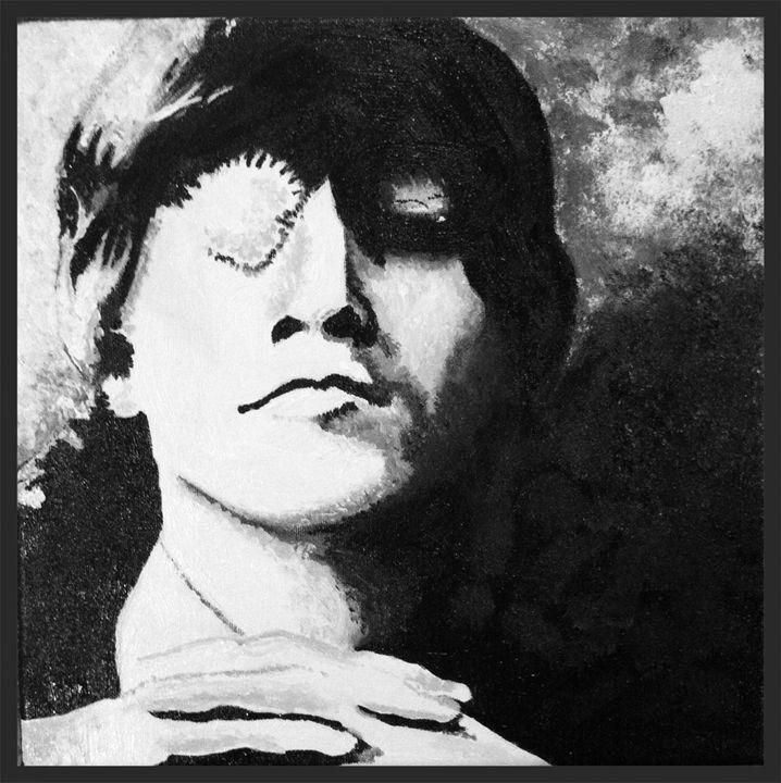 Art Print of John Lennon the Beetles - Portraits