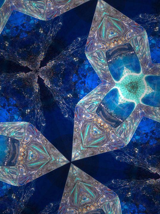 Blue Ice - kwileyart