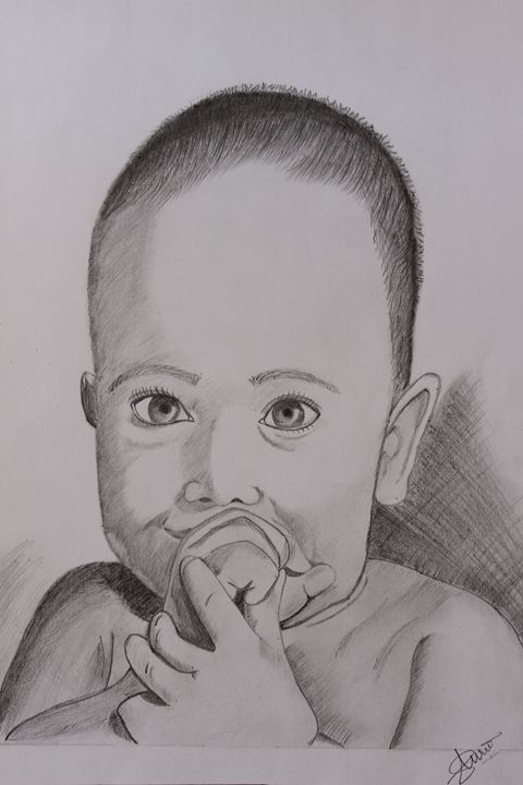 Baby - Purvi's Pencil Sketchs