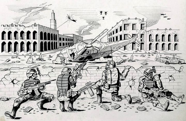 Black Hawk Down: Battle of Mogadishu - My Artworks