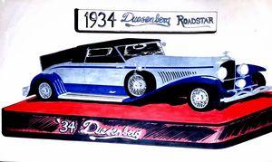 Duesenberg 1934 Roadstar