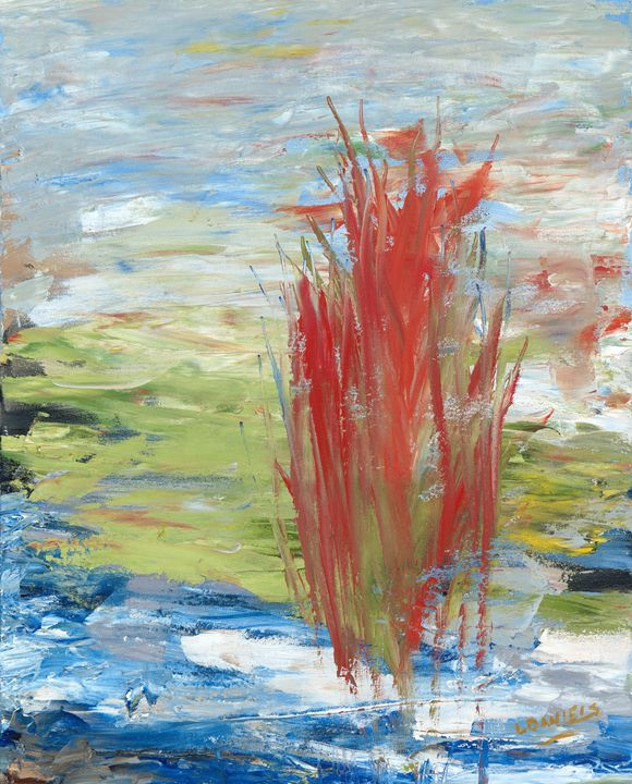 Home Plate Abstract - LDaniels Art