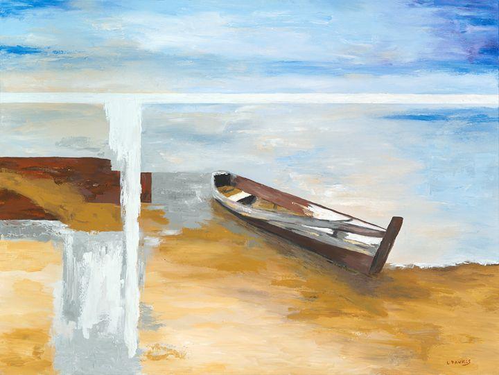 Ashore Abstraction - LDaniels Art