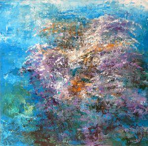 Floral of Coral - LDaniels Art