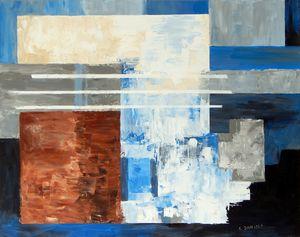 My Blue View - LDaniels Art