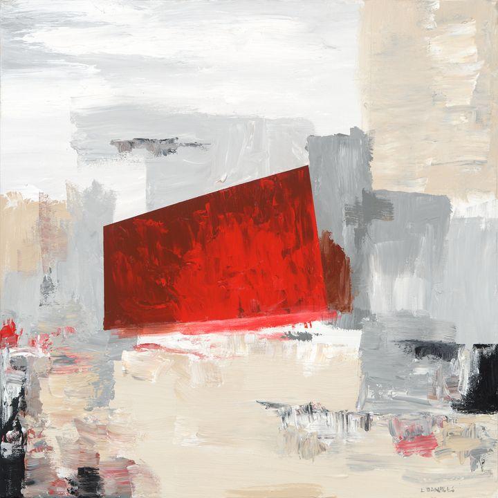 Crimson Cube - LDaniels Art