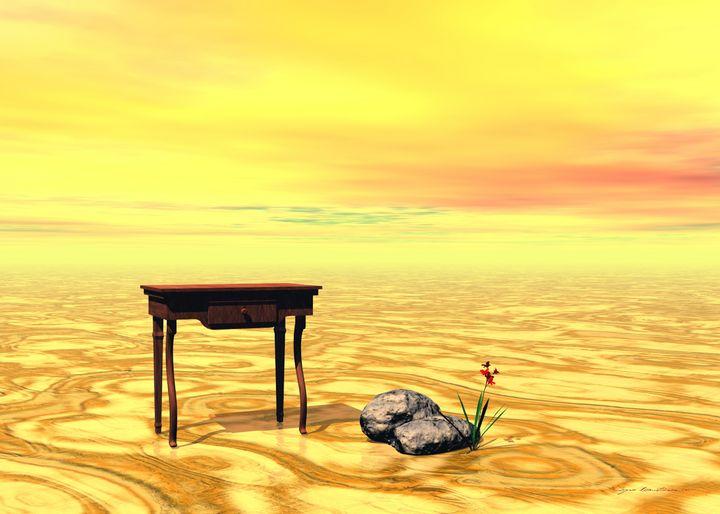 Surrealism - Meeting on plain - Sipo Liimatainen