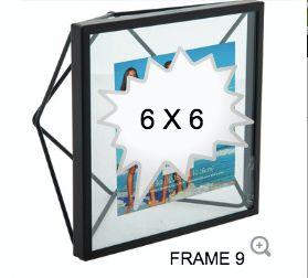 BLACK GLASS FRAME 9
