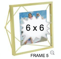 GOLD GLASS FRAME 5