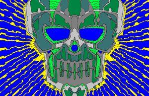 Electric skull1